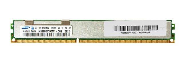 Memory RAM 1x 4GB Samsung ECC REGISTERED DDR3  1333MHz PC3-10600 RDIMM | M392B5170EM1-CH9