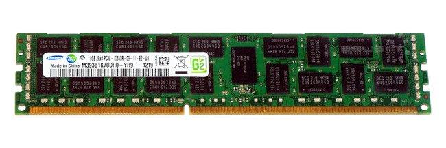 Memory RAM 1x 8GB Samsung ECC REGISTERED DDR3  1333MHz PC3-10600 RDIMM | M393B1K70DH0-YH9