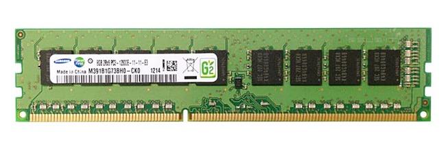 Memory RAM 1x 8GB Samsung ECC UNBUFFERED DDR3  1866MHz PC3-14900 UDIMM | M391B1G73BH0-CMA