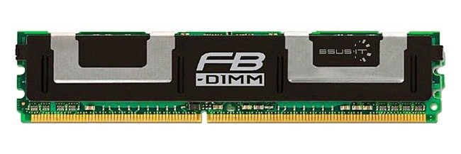 Memory RAM 2x 2GB GoodRAM ECC FULLY BUFFERED DDR2 667MHz PC2-5300 FBDIMM | GR667F272L5/4GDC